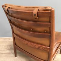 1960s Model Lacko Leather Chair (5 of 6)