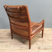 1960s Model Lacko Leather Chair (6 of 6)