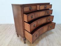 Concave Mahogany Chest of Drawers in George III Style (2 of 6)