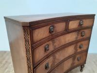 Concave Mahogany Chest of Drawers in George III Style (5 of 6)