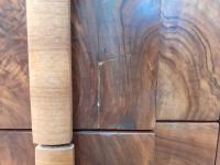 Pair of Walnut Art Deco Bedside Chests (4 of 9)
