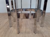 Merrow Associates Chrome Dining Table c.1970 (3 of 4)