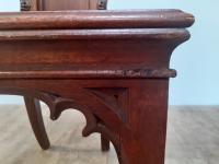 Bold & Impressive Gothic Oak Hall Chair (2 of 6)