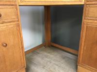 Heal & Son Oak Corner Desk (6 of 10)