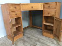 Heal & Son Oak Corner Desk (7 of 10)