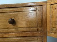 Heal & Son Oak Corner Desk (8 of 10)