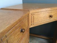 Heal & Son Oak Corner Desk (10 of 10)