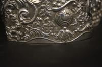Edwardian Silver Trefoil Potpourri Box (5 of 5)