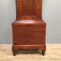Early Victorian Mahogany Longcase Clock (8 of 9)