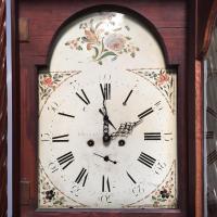 Early Victorian Mahogany Longcase Clock (4 of 9)