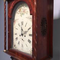Early Victorian Mahogany Longcase Clock (5 of 9)
