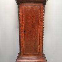 Early Victorian Mahogany Longcase Clock (9 of 9)
