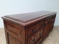Moulded Front Victorian Oak Dresser Base circa 1860 (7 of 7)