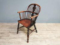 19th Century Yew Wood Windsor Chair (2 of 7)