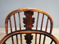 19th Century Yew Wood Windsor Chair (5 of 7)