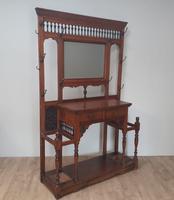 Victorian Oak Hallstand c.1870 (6 of 6)