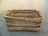 Very Large Wicker Basket c.1920