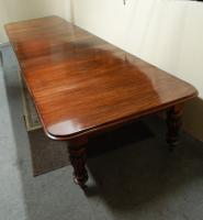 18' Extending Mahogany Dining Table (4 of 8)