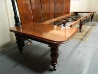18' Extending Mahogany Dining Table (8 of 8)