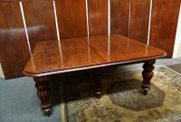 18' Extending Mahogany Dining Table (2 of 8)