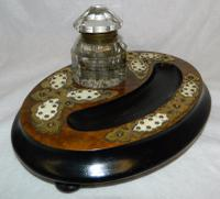Victorian Desk Tidy / Inkwell (4 of 5)