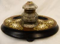 Victorian Desk Tidy / Inkwell (3 of 5)
