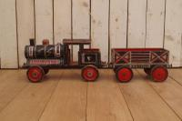 Painted 19th Century Toy Train (6 of 9)