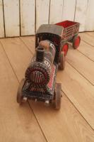 Painted 19th Century Toy Train (8 of 9)