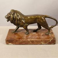 French Bronze Lion c.1890