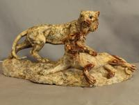Marble Sculpture of Lions