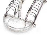 Hukin & Heath Silver Plated Toast or Cracker Rack (4 of 6)