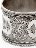 Pair of Boxed Victorian Silver Napkin Rings (7 of 8)