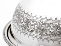Antique Elkington & Co Silver Plated Revolving Top Butter Dish (5 of 5)