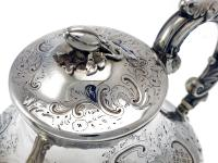 Victorian Baluster Form Four Piece Silver Tea & Coffee Service (6 of 7)