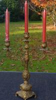 Exquisite Vintage French Bronze Candelabra