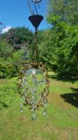 Vintage French 1950s Petite Cage Chandelier