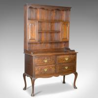 Antique Dresser, English, Oak, Victorian, Country Kitchen, Dresser Sideboard c.1870