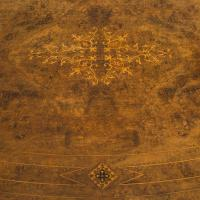 Antique Oval Table, English, Burr Walnut, Centre, Side, Victorian c.1870 (9 of 12)