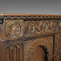 Victorian Antique Livery Cupboard in the 17th Century Taste, English, Oak C.1880 (3 of 7)