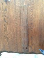19th Century Hand Made Hard Wood Cribbage Board