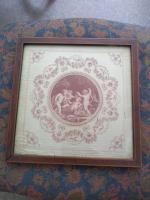 Pair of G B Cipriani Engravings on Silk (7 of 8)