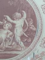 Pair of G B Cipriani Engravings on Silk (5 of 8)