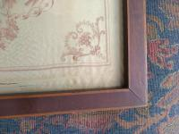 Pair of G B Cipriani Engravings on Silk (4 of 8)