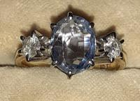 Diamond and Sapphire Ring (2 of 5)