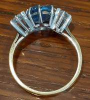 Diamond and Sapphire Ring (3 of 5)