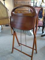 Mahogany Campaign Sewing Table (4 of 4)