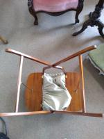 Mahogany Campaign Sewing Table (3 of 4)