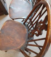 Pair of 20th Century Ash Windsor Chairs (4 of 5)