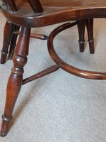 Pair of 20th Century Ash Windsor Chairs (2 of 5)