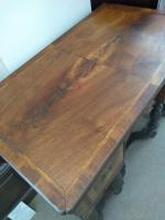 Burr Walnut Lowboy (2 of 8)
